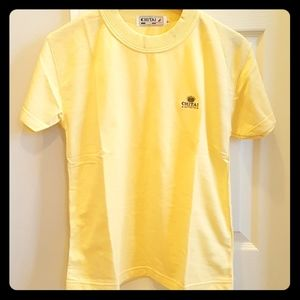 3/$20 NWOT Vintage woman yellow Tee top size M